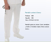 PANTALON SANITARIO BLANCO